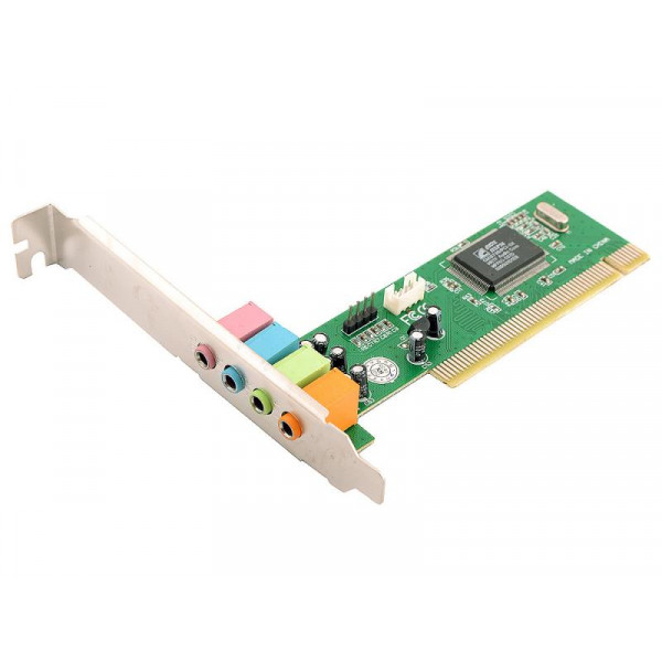 Звуковая карта C-Media 8738 PCI 4.0 FrontOut, Rear Out,